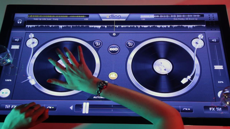 Callisto une table tactile de salon avec android - Table de salon avec ecran tactile ...