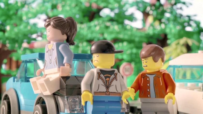 Lego refait les publicites ITV - Fevrier 2014