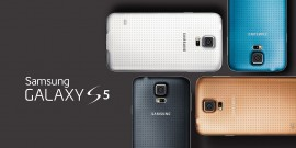 Samsung Galaxy S5 - Couleurs - Mobile World Congress 2014
