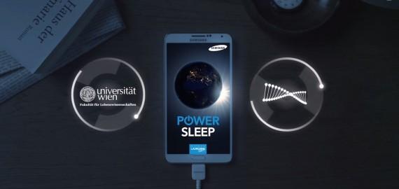 Samsung Power Sleep - Aide recherche contre le cancer - Autriche - Fevrier 2014