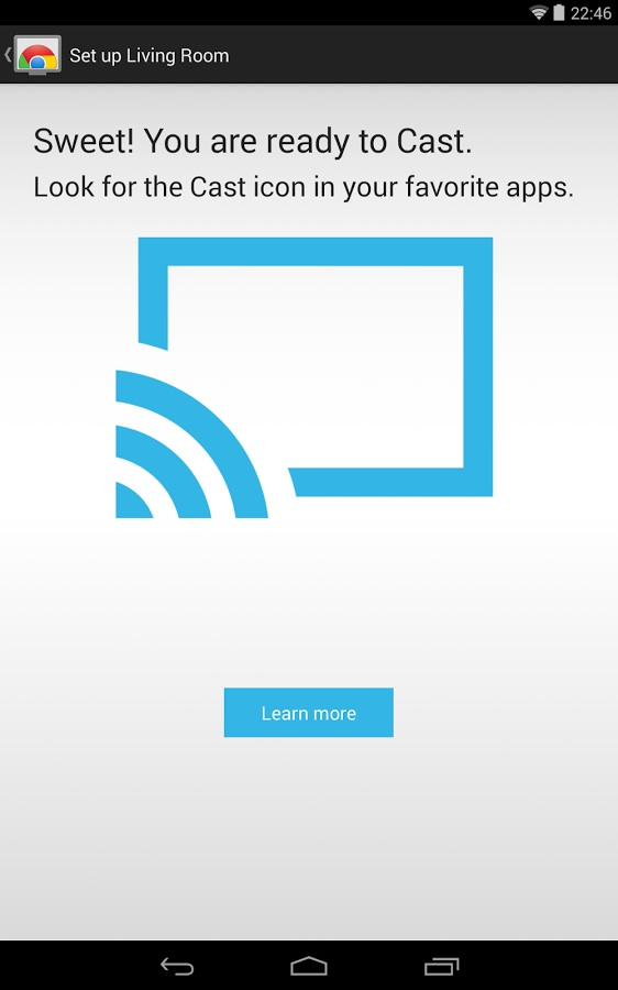 how to add chrome cast in android google chrome