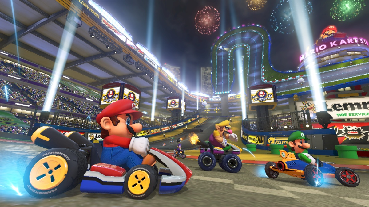 mario kart 8 sur wii u une nouvelle bande annonce et des nouveaut s geeks and com 39. Black Bedroom Furniture Sets. Home Design Ideas