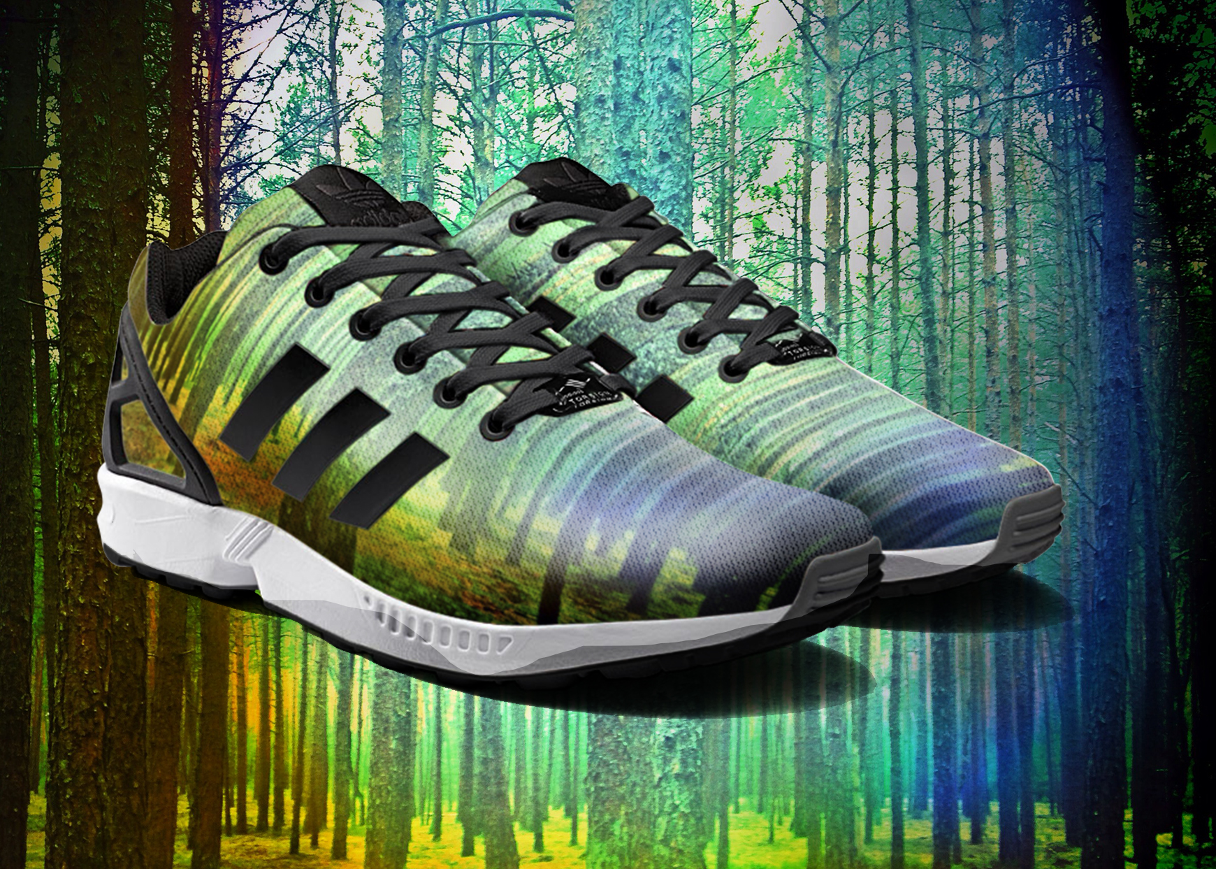 Yellow ZX Flux adidas US