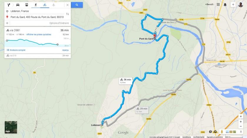 Topographie google