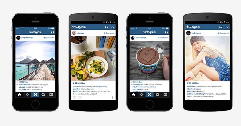 Deploiement publicite Instagram