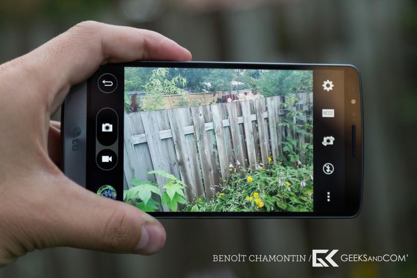 lg g3 s appareil photo
