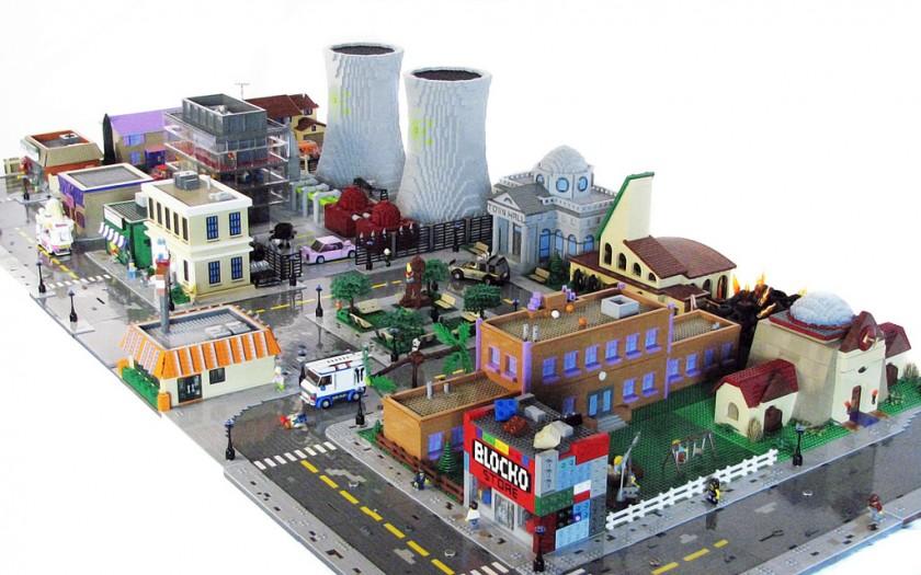 Lego 71006 Expert : La maison des Simpson Lego  Magasin de Jouets pour Enfants