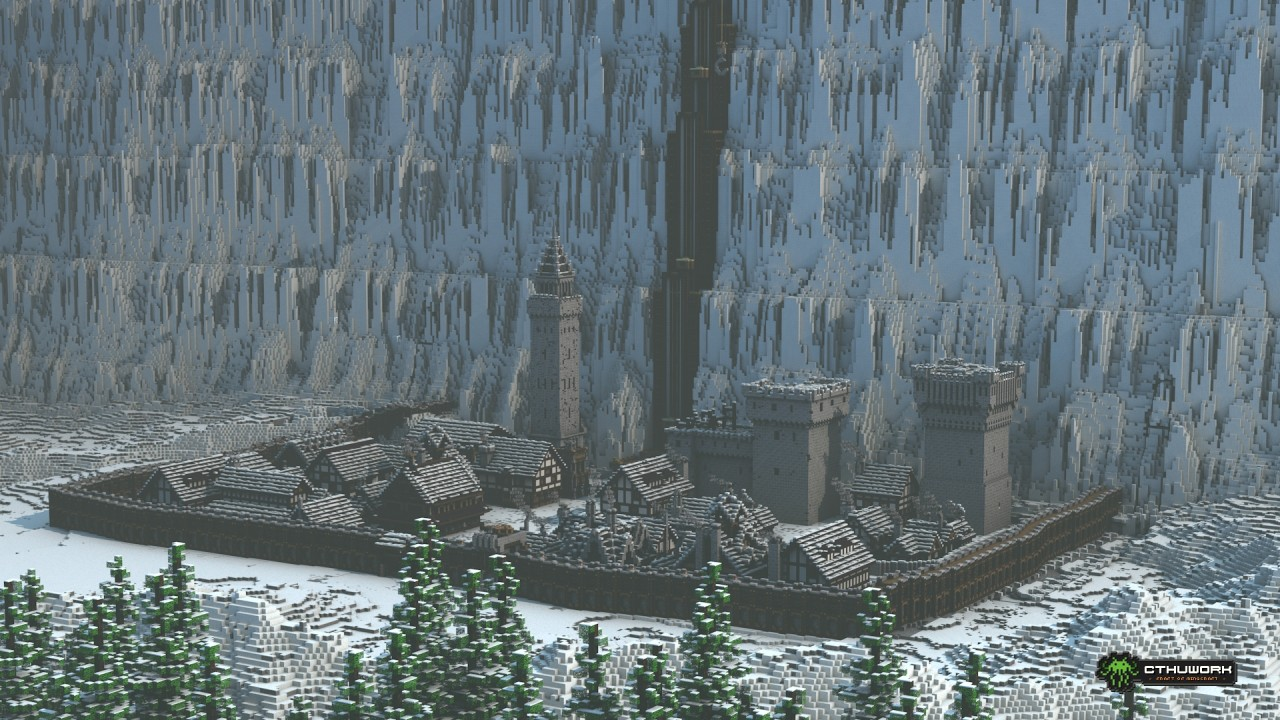 Le Ch 226 Teau Noir De Game Of Thrones Reconstruit De Belle