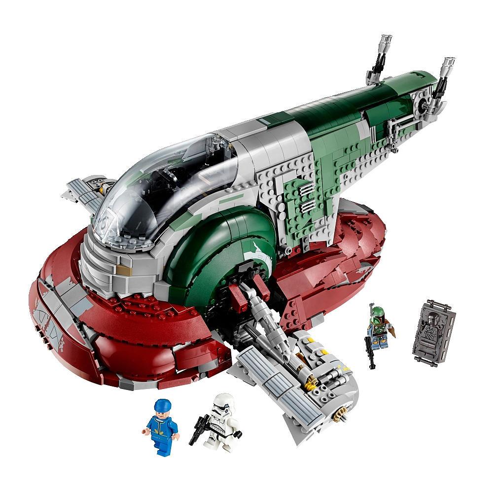 star wars un coffret lego pour le vaisseau slave 1 de boba fett geeks and com 39. Black Bedroom Furniture Sets. Home Design Ideas