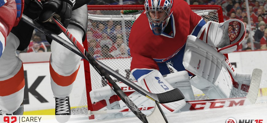 NHL 15 - Cover