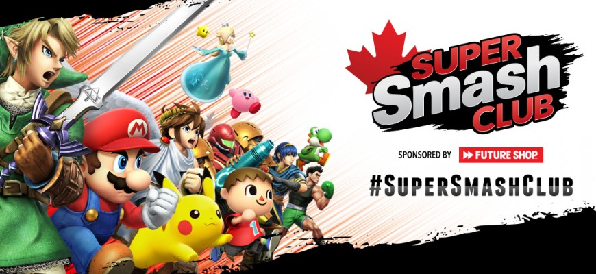 Nintendo Canada - Super Smash Club