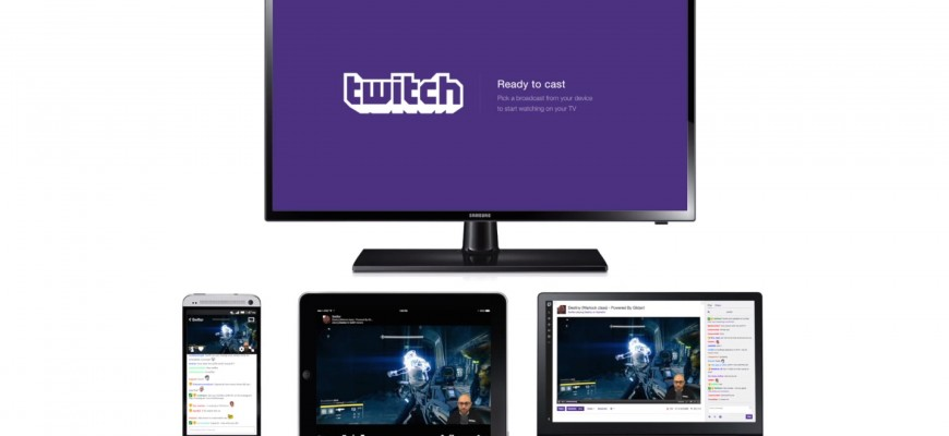 Twitch - Google Chromecast