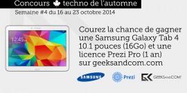 Concours Automne Geeks and Com - Samsung Prezi