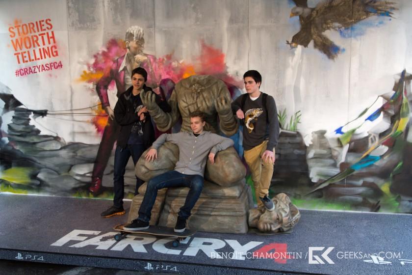 Retour en photos sur l?événement public Far Cry 4 d?Ubisoft