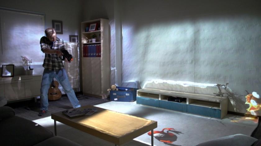 roomalive microsoft d voile une nouvelle technologie de r alit virtuelle pour le salon. Black Bedroom Furniture Sets. Home Design Ideas