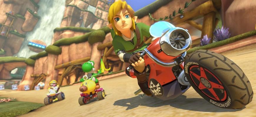 DLC Mario Kart 8 - Nintendo Wii U - Link