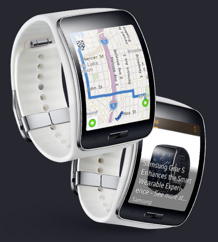 la montre connect e autonome samsung gear s est maintenant disponible au canada geeks and com 39. Black Bedroom Furniture Sets. Home Design Ideas