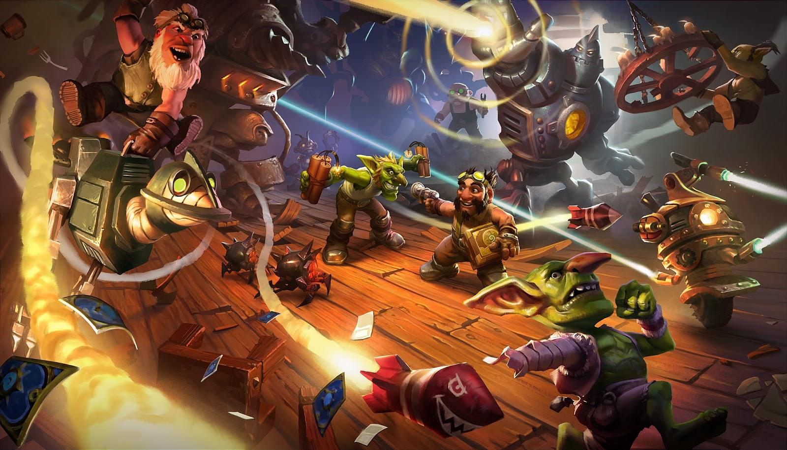 Hearthstone : Goblins vs Gnomes a désormais une date de ...