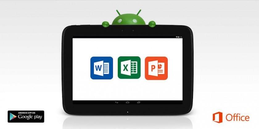 Microsoft annonce que office pour les tablettes android - Telecharger open office gratuit pour tablette android ...