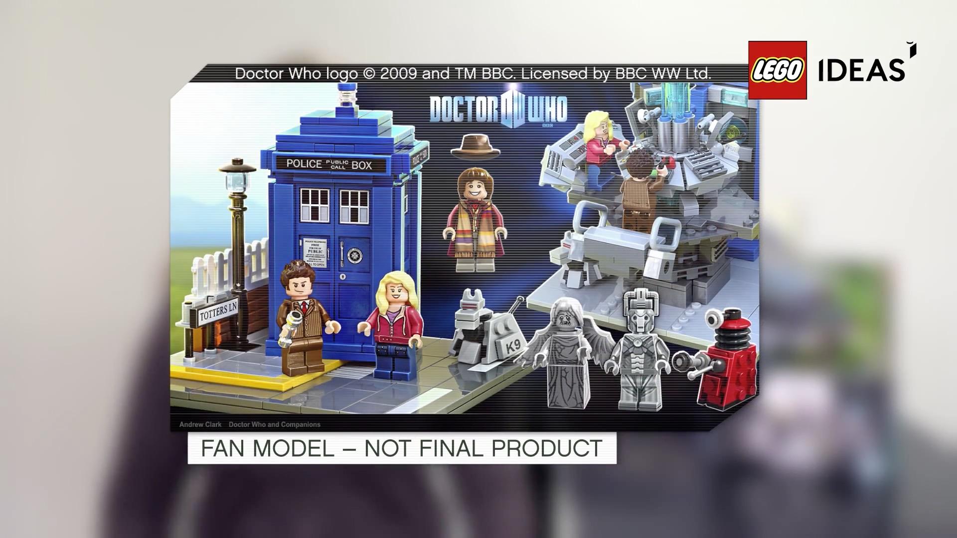Lego annonce des coffrets Doctor Who et Wall-E en 2015 ...