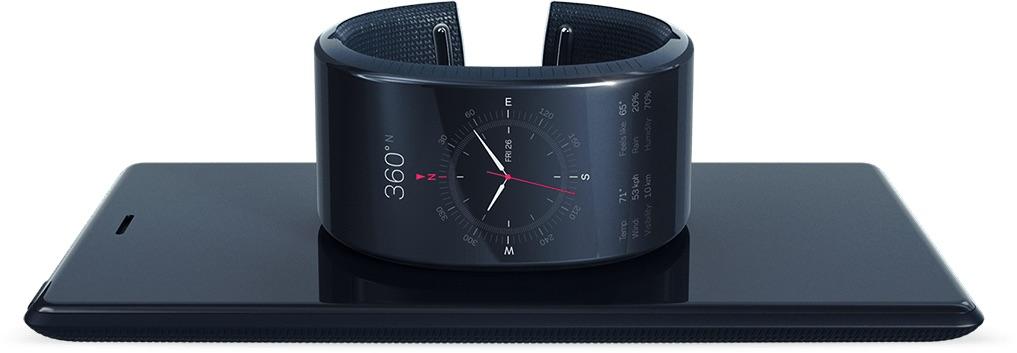 neptune duo une montre connect e autonome sous android lollipop accompagn e d 39 un cran de. Black Bedroom Furniture Sets. Home Design Ideas