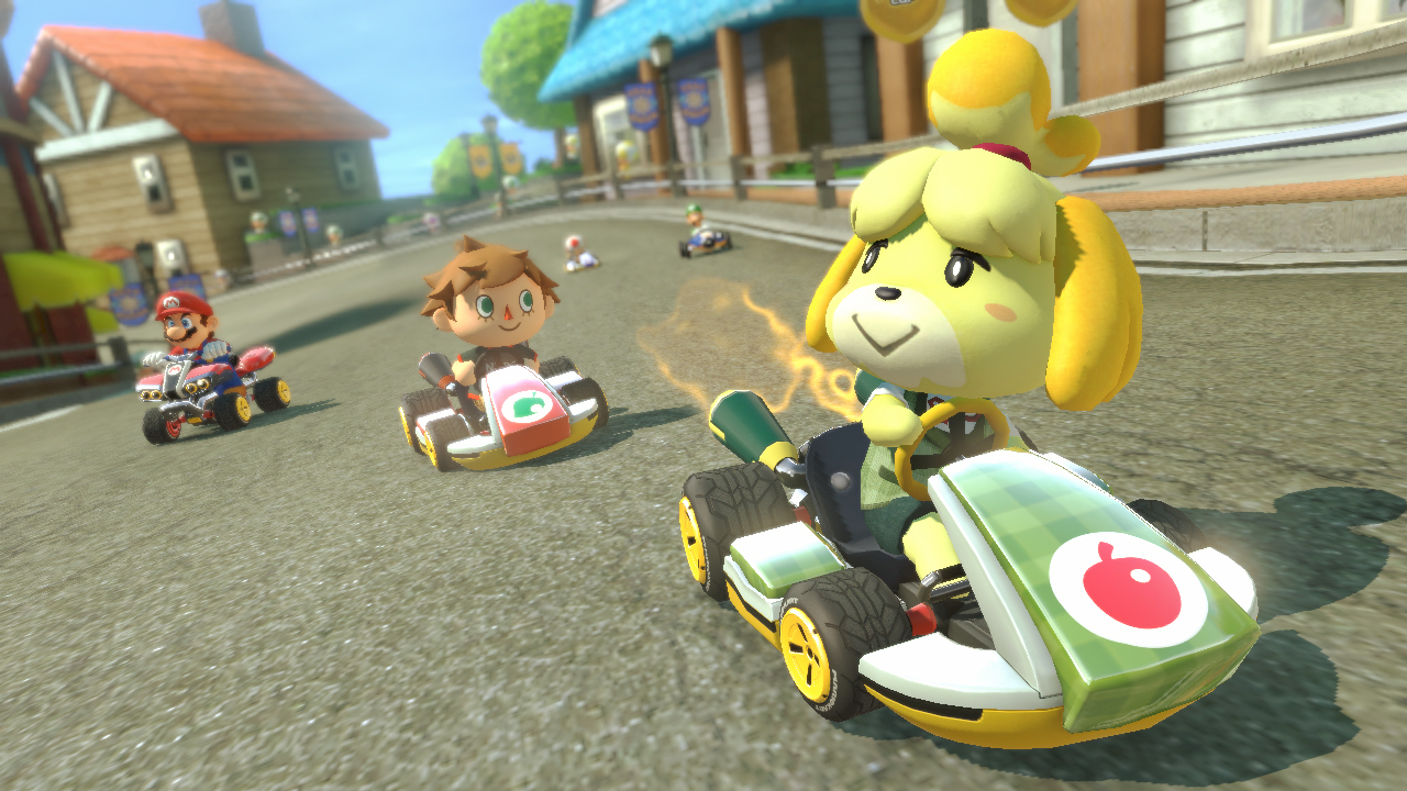 Test du second dlc de mario kart 8 et du mode 200cc sur for Karting interieur quebec