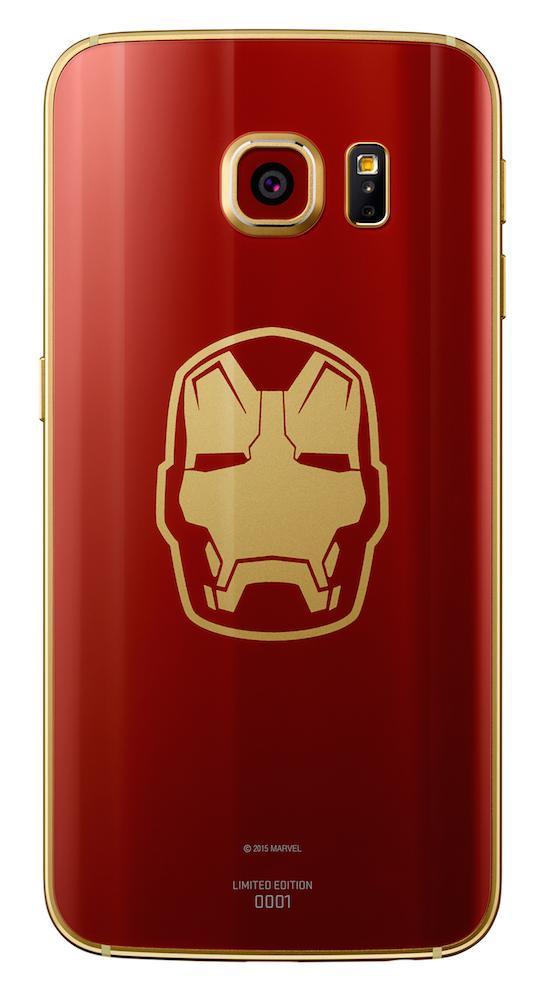coque galaxy s6 edge iron man