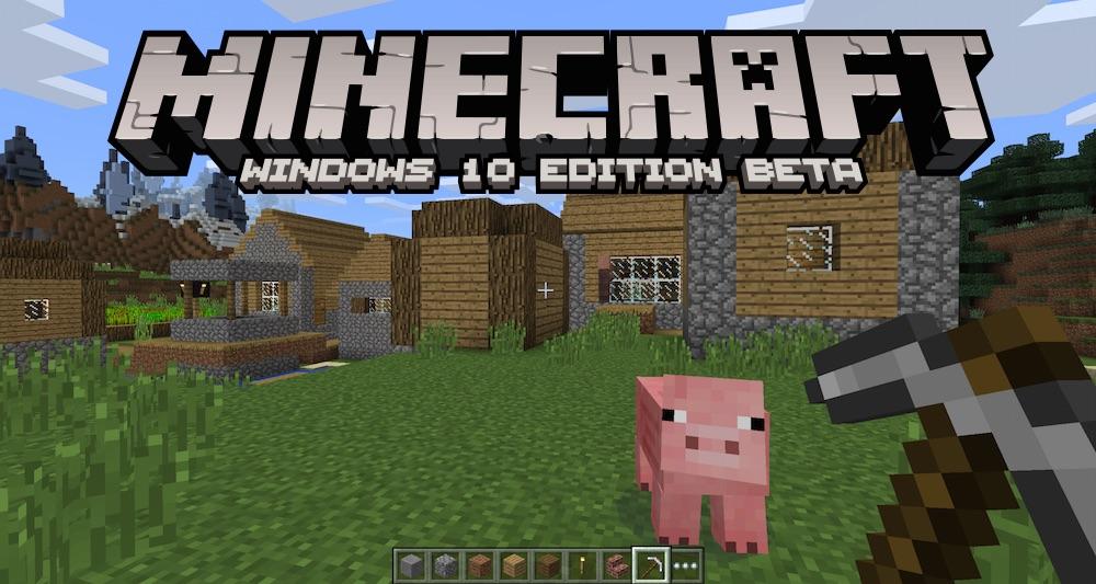 minecon 2015 windows 10 une nouvelle version de minecraft disponible d s le 29 juillet en. Black Bedroom Furniture Sets. Home Design Ideas