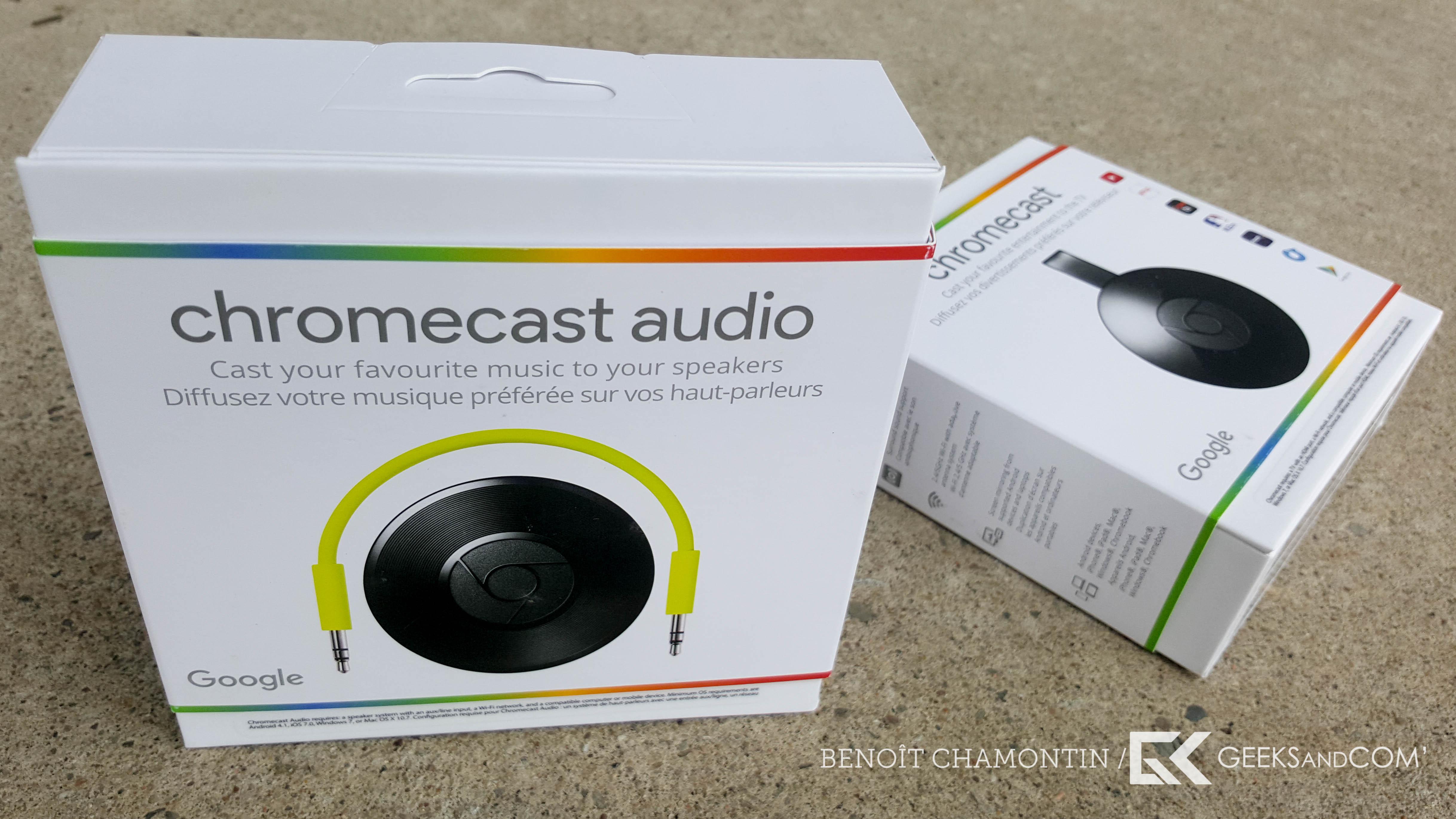Google - Nouveau Chromecast - Chromecast Audio - Test Geeks and Com
