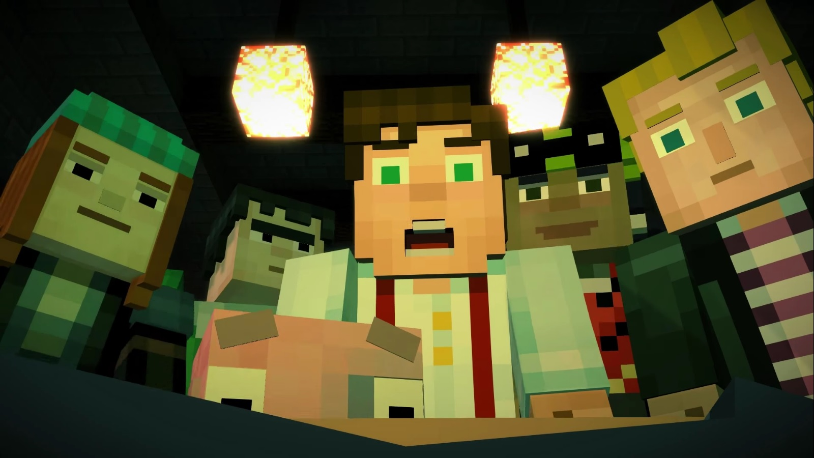 Test de Minecraft Story Mode : Episode 1 « The Order of ...