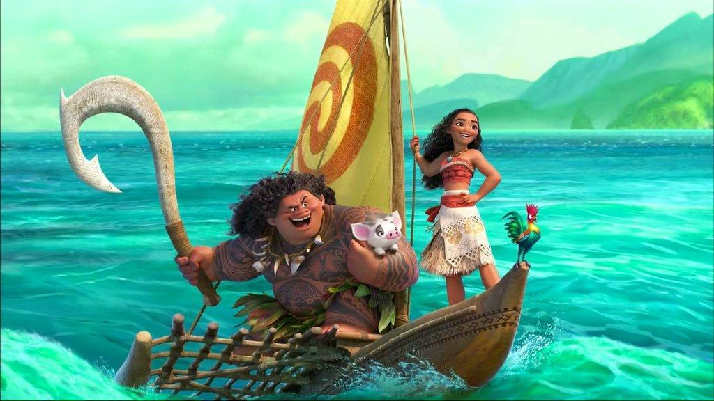 Disney a d 233 voil 233 la distribution des personnages du film moana
