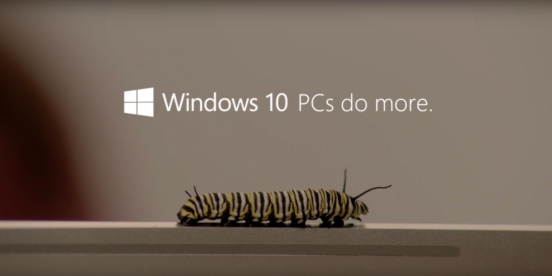 Windows 10 PCs do more Campagne