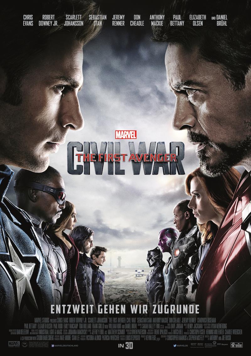 Captain America Civil War Captain-America-Civil-War-Affiche-affrontement