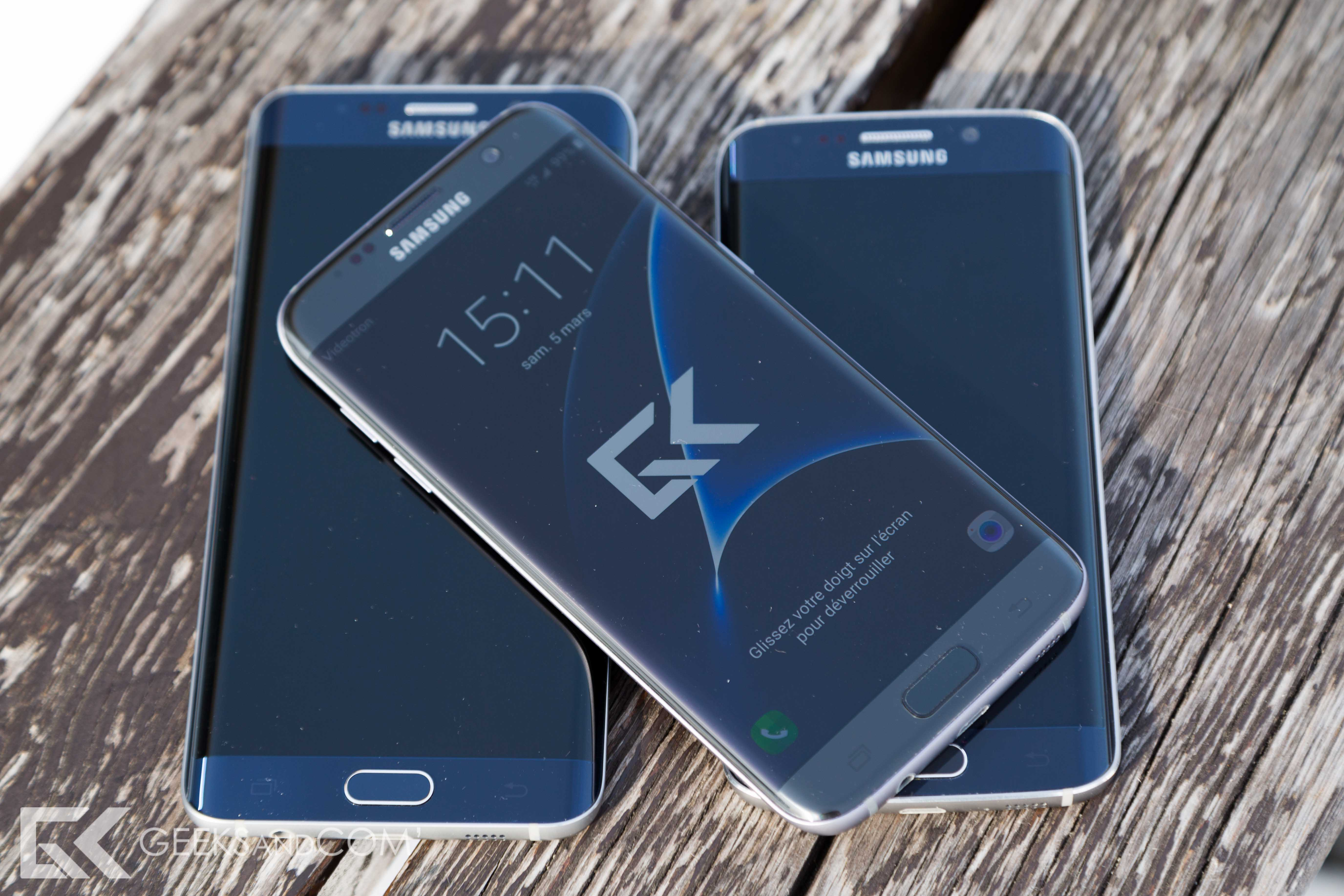 Test du samsung galaxy s7 edge design puissance et for Photo ecran galaxy s7