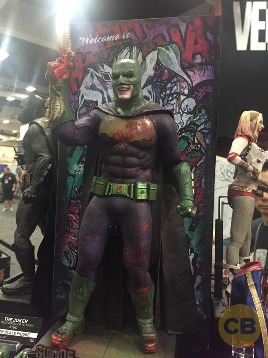 sdcc 2016 le joker en costume de batman dans suicide squad geeks and com 39. Black Bedroom Furniture Sets. Home Design Ideas