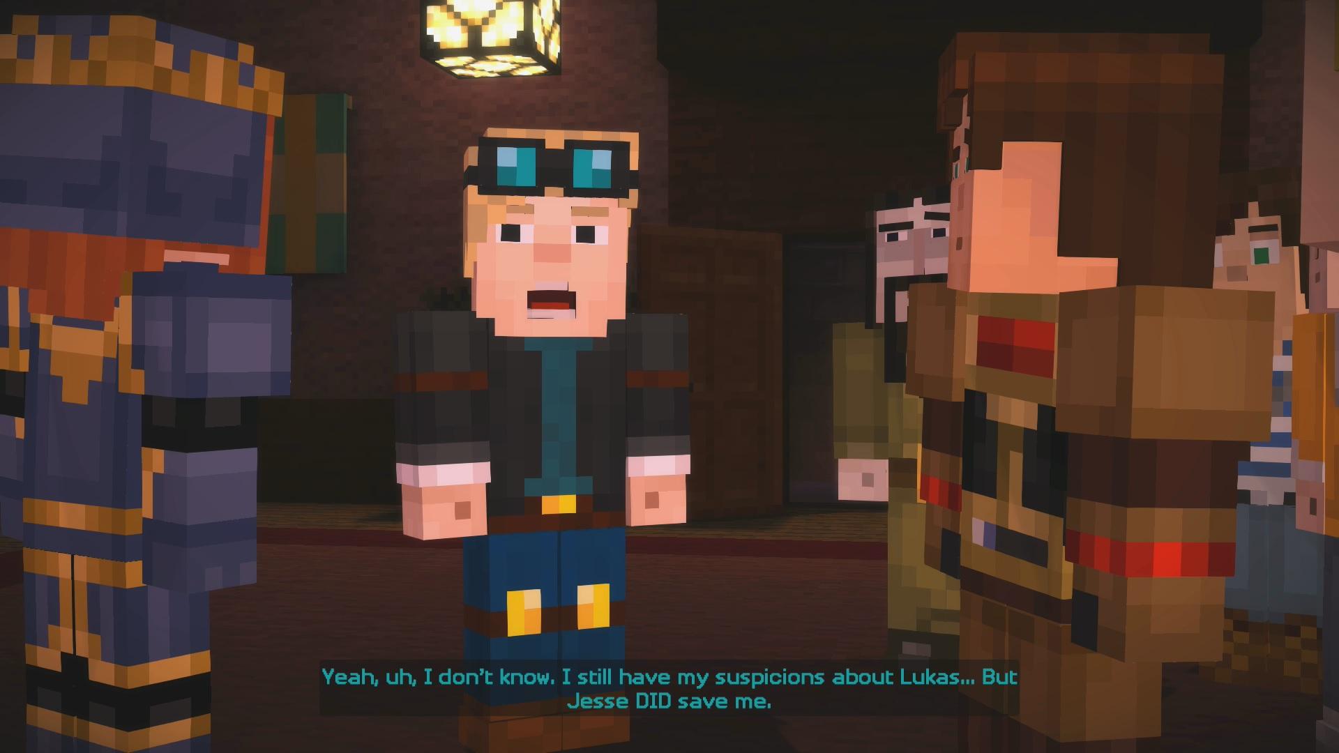 minecraft story mode эпизод 6