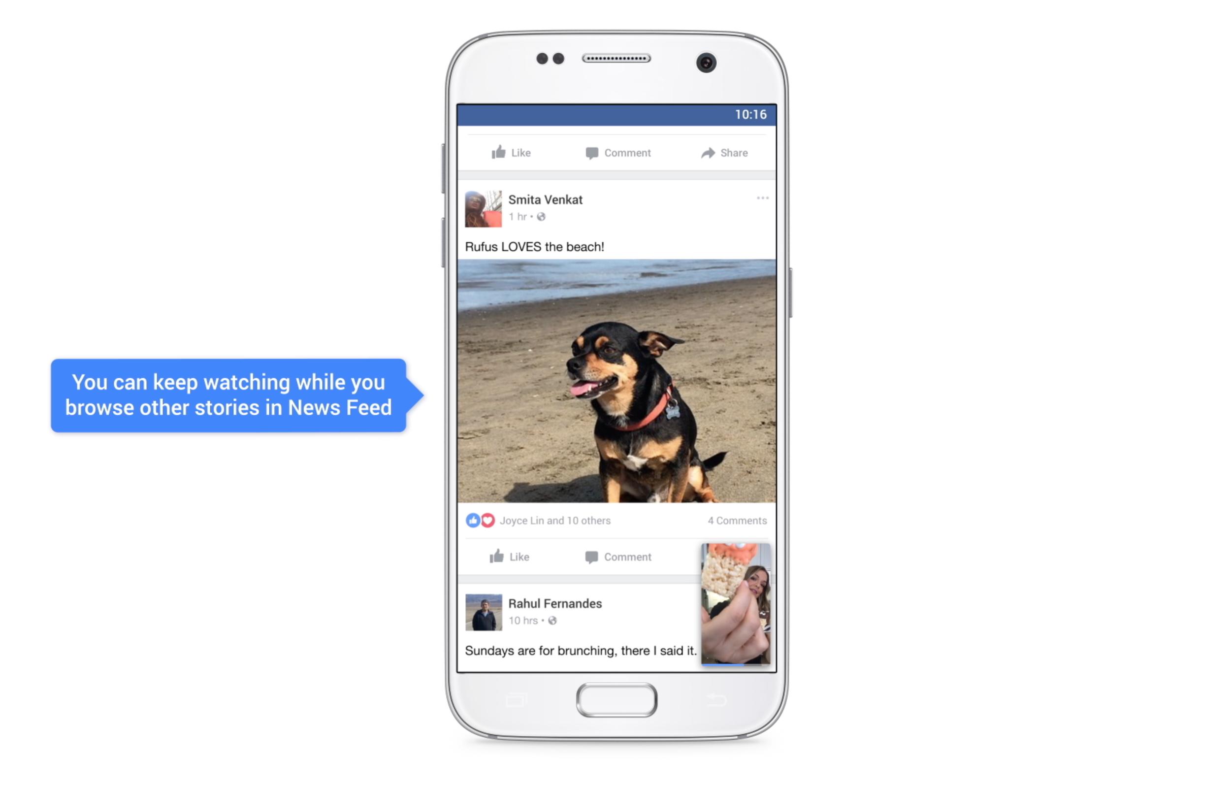 Facebook va activer le son des vidéos par défaut