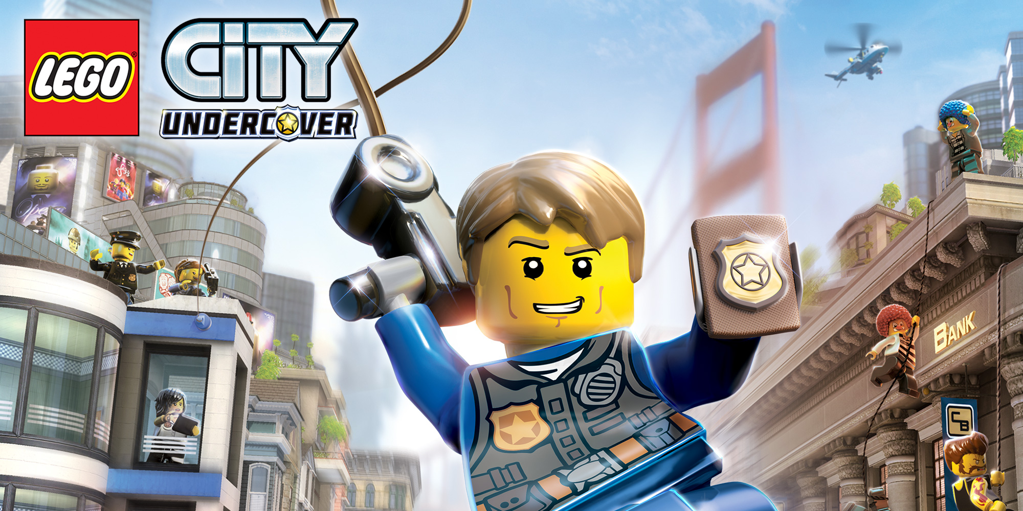 test de lego city undercover sur nintendo switch que vaut chase mccain en 2017 geeks and com 39. Black Bedroom Furniture Sets. Home Design Ideas