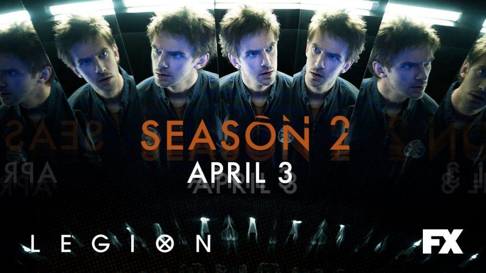 La saison 2 datée — Legion