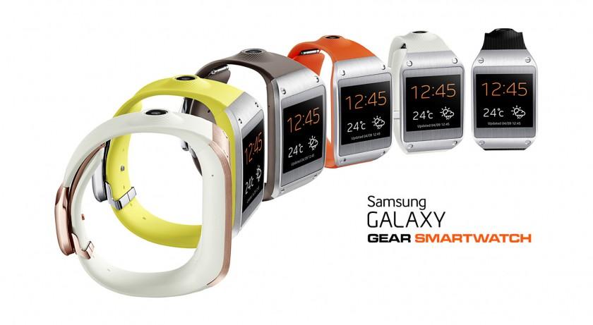 Couleurs Samsung Galaxy Gear - Montre connectee