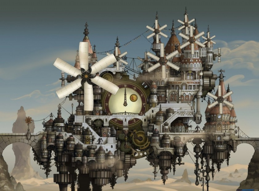 Bravely Default - Nintendo 3DS - Land of sand and time