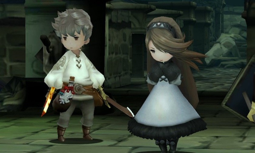 Personnages - Bravely Default - Nintendo 3DS