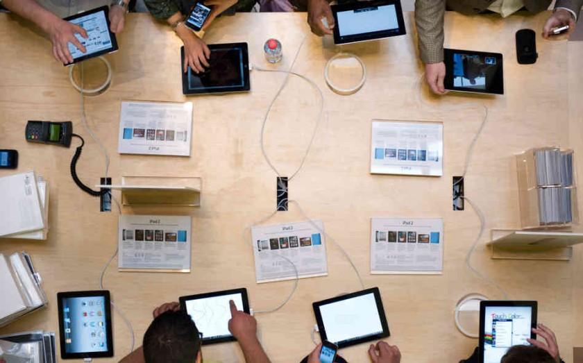 Utilisateurs iPad 2 iOS - Apple Store