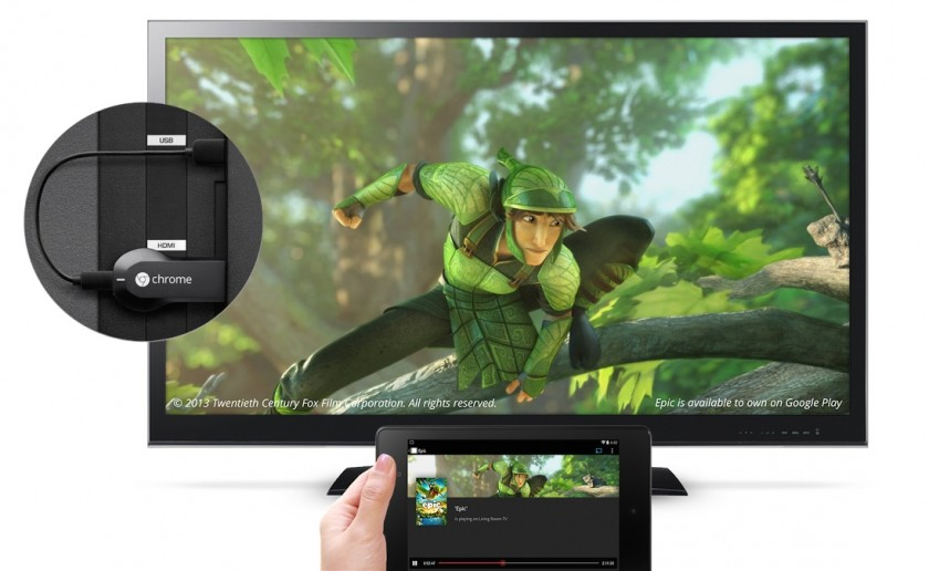 Google Chromecast - Youtube Epic Television