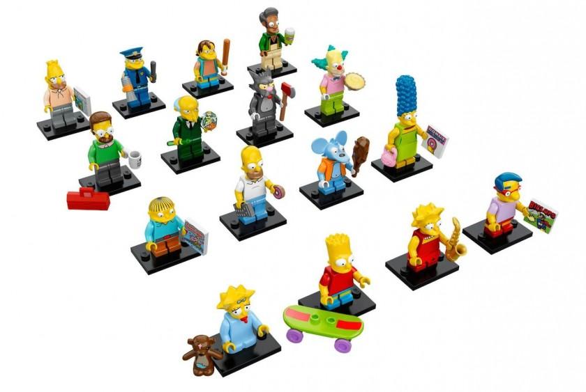 LEGO - 16 nouvelles figurines Les Simpson