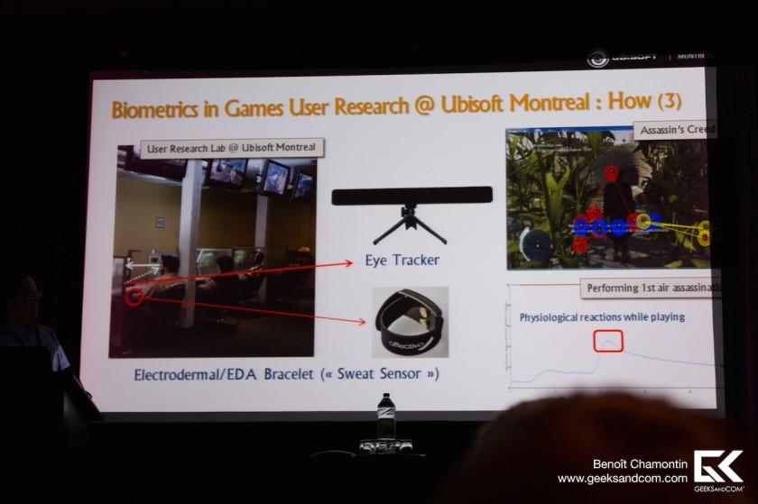 Pierre Chalfoun - Ubisoft Montreal - Biometrie Jeux Video 2 MIGS 2013