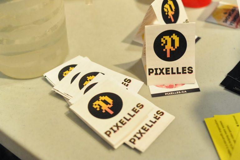 Autocollants du logo de Pixelles Montréal