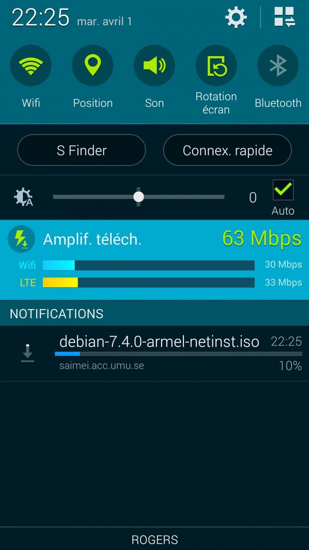 Amplificateur Telechargements Galaxy S5 GeeksandCom