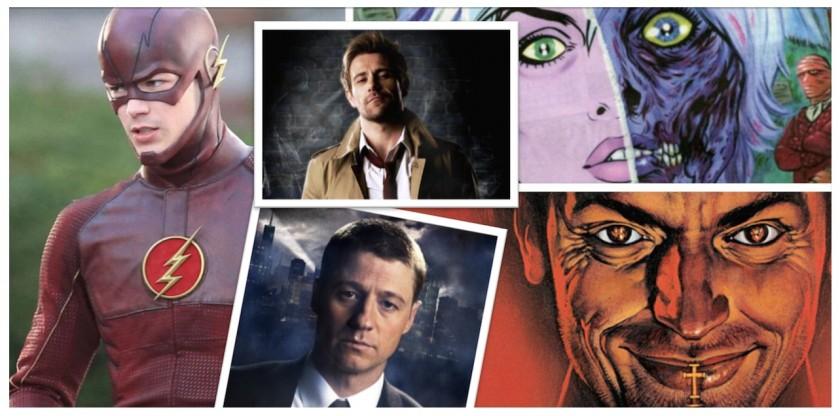 DC Comics Vertigo - The Flash - Gotham - Constantine - iZombie - Preacher