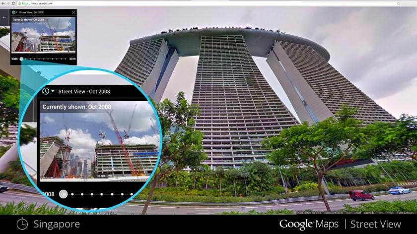 Google Maps Street View - Time machine 1